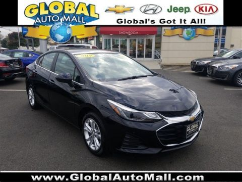 Pre-Owned 2019 Chevrolet Cruze LT FWD 4dr Car