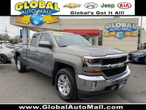 Certified Pre-Owned 2017 Chevrolet Silverado 1500 LT 4WD